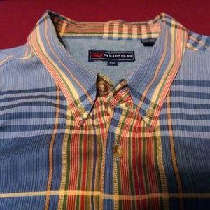ROPER Western Shirt Long Sleeve Button Down XXL